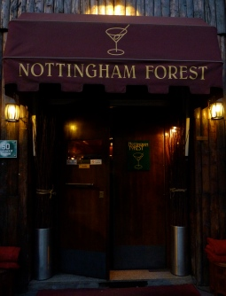 Nottingham Forest Milan bar top cocktails Italy