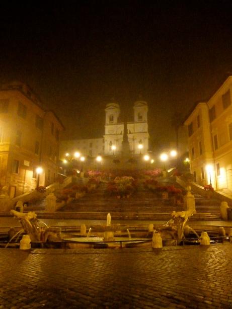 Spanish steps Trinita dei Monti
