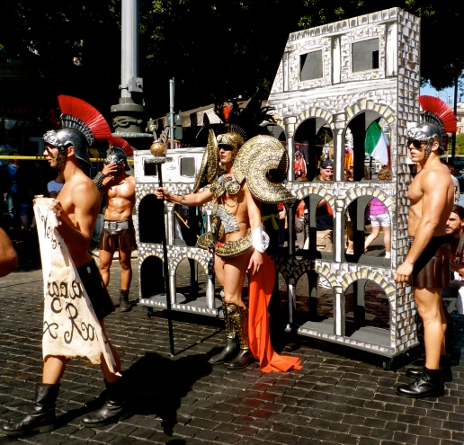 Gladiators Rome gay scene italy