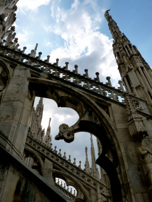 architecture duomo roof italy