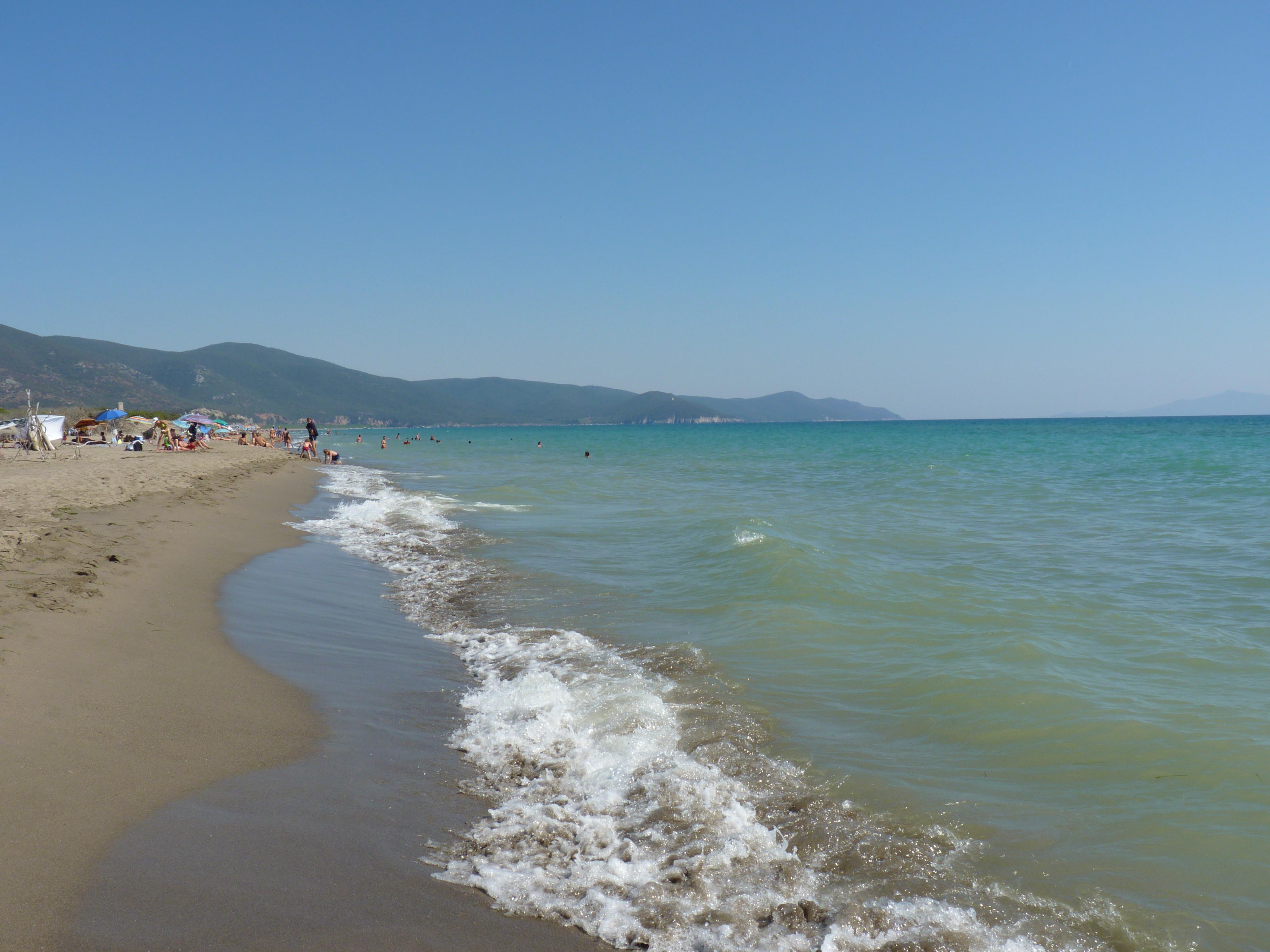Nudist Beach Italy  La Cara Vita-9504