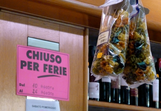 month of august italy wine pasta shop rome