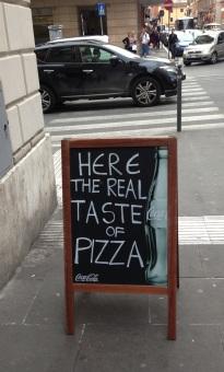 Pizzeria Rome Italy authentic